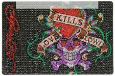 Ed Hardy Icing Love Kills Slowly Large Netbook Case NEW