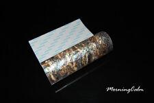 2 Sheets of Dragon Paua Flexible Adhesive Veneer (Shell  Nacre Papercraft)