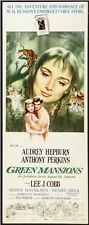 GREEN MANSIONS - 1959 - original ROLLED 14x36 Insert movie poster AUDREY HEPBURN