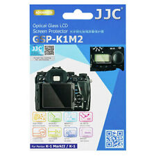 JJC GSP-K1M2 Optical GLASS LCD Screen Protector Film for Pentax K-1 K1 II K1II