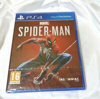 Marvel's SPIDERMAN  PS4 New Sealed UK PAL Version Game Sony PlayStation 4 Marvel