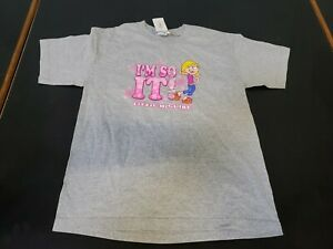 "NWT Vintage 2001 Disney  Lizzie McGuire ""I'm So It"" Promo Shirt large"