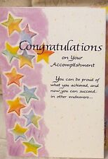 Blue Mountain Card Congratulation On Your Accomplishment B1G2F
