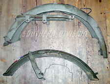 Triumph 3ta t35wd genuine parts both mudguards first Colour Dutch Army Bike