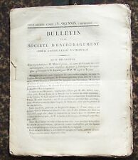 1827 septemb Bulletin de la SOCIETE D'ENCOURAGEMENT Industrie Science Techniques