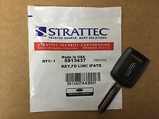 Genuine OEM Strattec Lincoln Transponder Key Blank 164-R8080 5913437 Free Ship