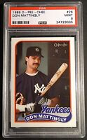 1982 O-PEE-CHEE CECIL COOPER #167  PSA 9 BREWERS CENTERED POP 6  (217)