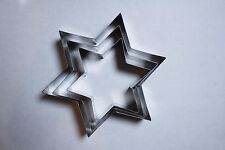 Rare Martha Stewart Martha By Mail Four Tiered Star Cake Mold Set of 3 Pieces