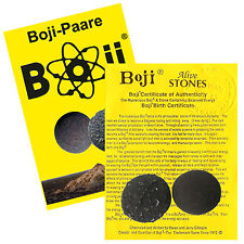 Boji-Paar, Boji lebende Steine, ca. 20-22mm inkl. Original-Zertifikat + Booklet