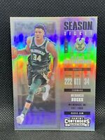 2017 Panini Contenders Silver Giannis Antetokounmpo Season Ticket Centered