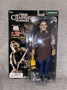Horror Mego 8-Inch Retro - Texas Chainsaw Massacre - Leatherface  Action Figure