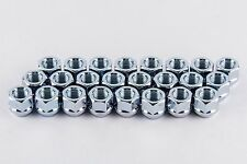 "Set 24 7/16"" Open End Lug Nuts For Classic/Vintage Chevy Trucks 3/4"" Hex W1716B"