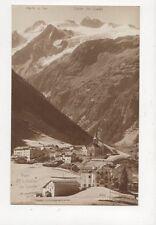 Trient & Glacier Des Grands Vintage Rp Postcard Switzerland 389a
