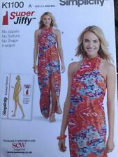 Simplicity Sewing Pattern K1100 Ladies Cover Up Easy to Make XXS-XXL Unused