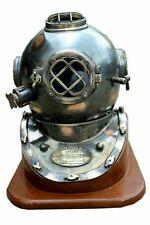 18 Inch US Navy Diving Helmet Mark V Deep Sea Divers Helmet Vintage Scuba gift