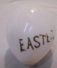 Milk Glass Large Easter Egg, Gold Easter Vintage