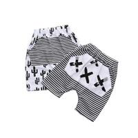 Fashion Kids Baby Boys Printed Clothes Elastic Harem Pants Toddler Trousers