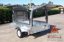 7x5 Tradesman Builders Trailer Aluminium Canopy Heavy Duty Box Trailer