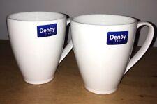 DENBY Classic White Mug - Set Of Two
