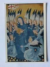 National Gallery colour Postcard c1936 Wilton Diptych Madonna & Child