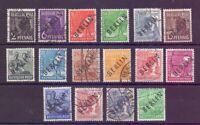 Berlin 1948 - Schwarzaufdruck - MiNr. 1/16 gest. geprüft - Michel 355,00 € (346)