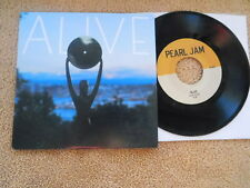 """Pearl Jam - Alive/Around...(R&R HOF Soundcheck/Rehearsal) - Picture Sleeve PS 7"""""""