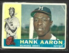 New listing 1960 Topps Hank Aaron #300 (Fair)