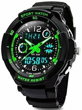 Digital Watches for Kids Boys - 50M Waterproof Outdoor Sports Analogue Watch wit