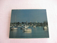 """""""Quiet Harbor"""" 550 Piece Jigsaw Puzzle By Cape Shore~New & Factory Sealed!"""