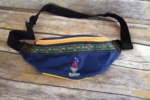 Vintage 1996 Atlanta Georgia Olympics  FANNY PACK Waist Bag Colorblock Unisex