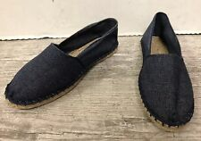 DESTOCKAGE VERITABLE ESPADRILLE EN TOILE «  MADE IN FRANCE « BLEU JEANS @ T. 40