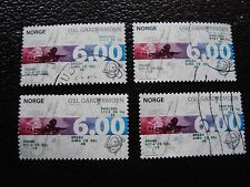 NORVEGE - timbre yvert et tellier n° 1250 x4 obl (A30) stamp norway (Z)