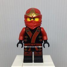 Lego Figurine Minifig Ninjago Kai Ninja rouge red sabre sword njo007 NEUF