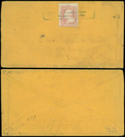 1864 CIVIL WAR: BOXED CHATTANOOGA TENN PMK, Cover & Letter, Camp 105th O. Vols!