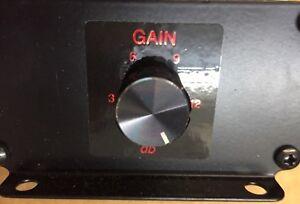 PAC TURBO-1 UNIVERSAL CAR AMPLIFIER BASS GAIN RCA LEVEL AMP VOLUME CONTROL KNOB