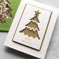 Stanzschablone Stern Tannenbaum Weihnachten Hochzeit Geburtstag Album Karte DIY