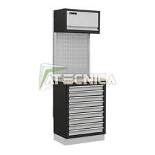 Arredamento modulare per officina FERVI A007R 68cm piano in legno cassettiera