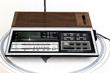 Vintage General Electric FM/AM/TV Clock Radio Tested