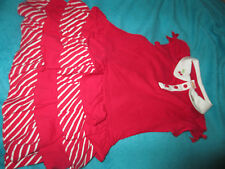 NWT Gymboree Cherry Cutie Red & White Tiered Dress! Size 5T/5 Adorable! HTF!
