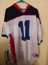 New England Patriots Reebok NFL Equipment  Drew Bledsoe XL Jersey