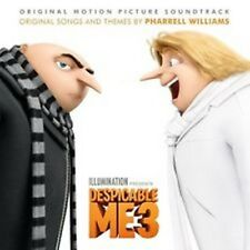 Despicable Me 3 - SOUNDTRACK pharrell williams, michael jackson, madonna, a-ha
