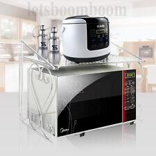 Weiß Mikrowellenhalter Klappbar Halterung Regal Ablage Küchenregal Befestigung