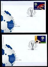 Fußball. WM-2006, Deutschland. 2 FDC. Ukraine 2006