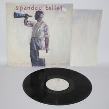"Spandau Ballet - Only When You Leave - 1984 Vinyl 12"" Single & Poster - SPANX 3"