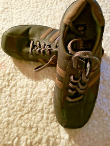 Skechers Mens Relaxed Step Oxford Shoes Brown Lace Up Bicycle Toe 10 F-50