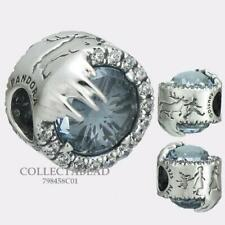 Authentic PANDORA Silver Disney Frozen Winter Crystal Charm Bead 798458C01