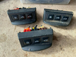 AUDI TT MK1 CENTRE CONSOLE SWITCH Boot Release Fuel Flap Alarm Buttons