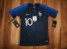 NWT Nike 2018 World Cup France FFF Stadium Mbappe Jersey Youth Kids XS,S,M,L NEW