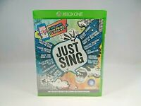 Just Sing (Microsoft Xbox One, 2016)