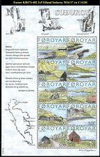 FAROER KB473-482 2x5Gemeenten eiland Suðuroy